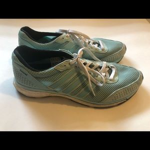 Adidas Boost Light Blue Sz 11 Athletic Shoe